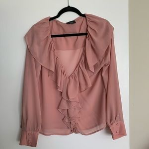 💕💕💕 VICI ruffle blouse